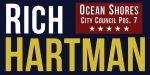 Elect Rich Hartman – Ocean Shores City Council